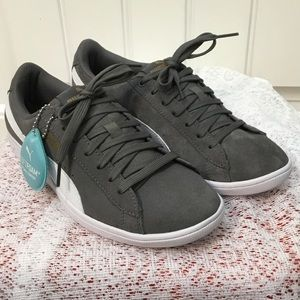 Grey Suede Puma Shoes